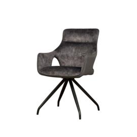 Nola armchair grey