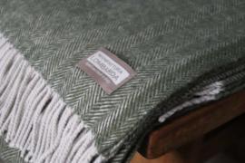 Lombarda plaids groen 130x175 cm