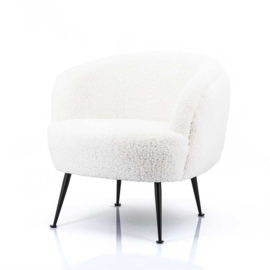 Fauteuil Babe white