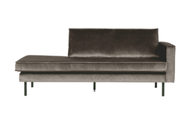 Daybed Rodeo right velvet taupe
