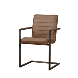 Rocca armchair  brown