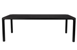 Eettafel  Storm 220x90 cm, essenfineer zwart