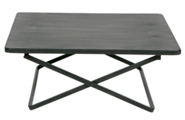Salontafel Crux l metaal antique black