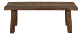 Houten bank, rustiek oud hout 120 cm