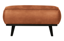 Hocker Statement  eco leer cognac 80x55cm