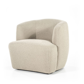 Fauteuil Charlotte Taupe