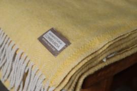 Lombarda plaids geel 130x175 cm