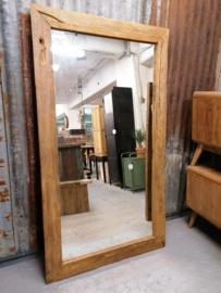 Spiegel erosie teak 160x90 cm
