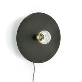 Wandlamp Horus small - zwart