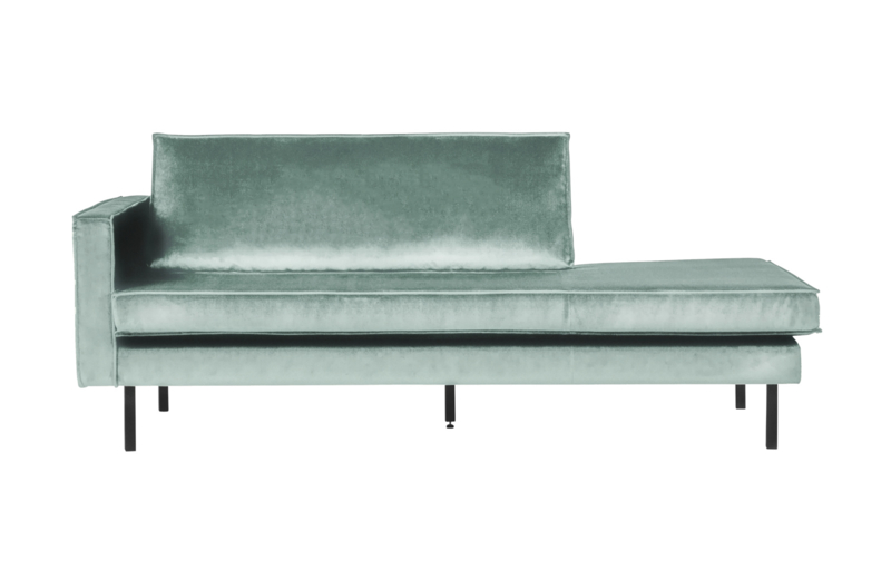 Rodeo daybed left velvet rusty