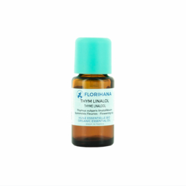 Tijm olie - Etherische olie Thymus Vulgaris Linaloliferum, bio. Florihana 5 of 15 gram