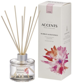 Bolsius Accents Reed Diffuser Bubbles & Blessings 100 ml.