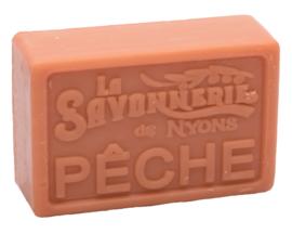 La Savonnerie de Nyons - Marseillezeep Pêche (Perzik) 100 gram.