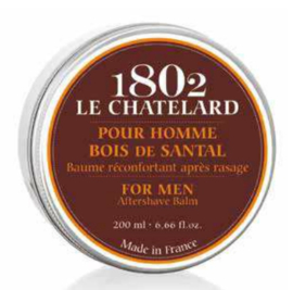 Le Chatelard Collection Homme -Sandalhout aftershave balsem 200 ml.