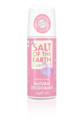 Salth of the earth - Pure aura deodorant roll-on lavender & vanilla 75 ml.