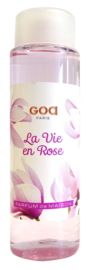 GOA Intemporel - La Vie en Rose Geurstokjes Navulling  250 ml. & geurstokjes