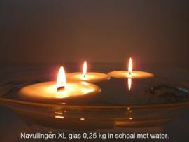10 stuks Citrobella® Citronella kaars (na)vullingen indoor 250 g voor XL Glas