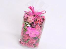 Potpourri Roze ongeparfumeerd 100 gram
