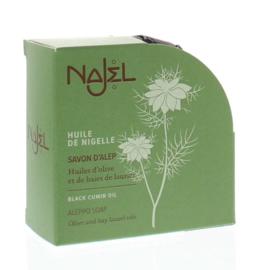 Najel - Aleppo zeep nigella olie zwarte komijn 100 gram.