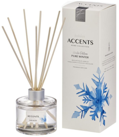 Bolsius Accents Reed Diffuser Pure Winter 100 ml.