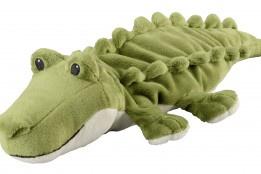 01179  Warmies warmteknuffel Krokodil (magnetronknuffel)
