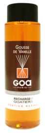 GOA Gousse de Vanille Geurstokjes Navulling  250 ml. & geurstokjes