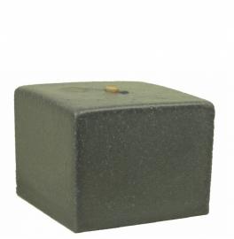 Bigfoot® kaars 1.2 kg marmer grijs