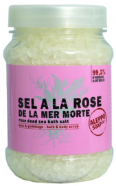 Aleppo Soap Co. - Roos Badzout 500 gram.