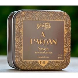 La Savonnerie de Nyons - Zeep met biologische arganolie 100 gram.