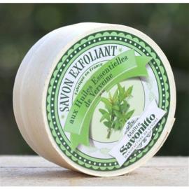 Maitre Savonitto - Zeep verveine in houten doosje  100 gram.
