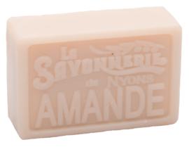 La Savonnerie de Nyons - Marseillezeep Amande ( Amandel) 100 gram.