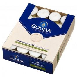 Gouda witte 4,5-uurs waxinelichtjes in doos 60 stuks