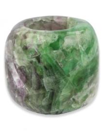 Ruben Robijn - fluoriet regenboog gepolijst