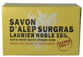 Aleppo Soap Co - Aleppo zeep 35% laurier in doosje 150 gram