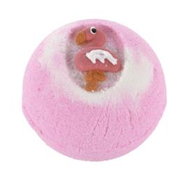 Treets Badbruisbal - Bath Ball Flamingo Paradise