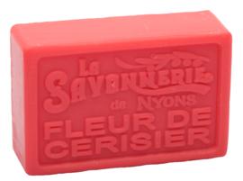 La Savonnerie de Nyons - Marseillezeep  Kersenbloesem (Fleur De Cerisier) 100 gram.