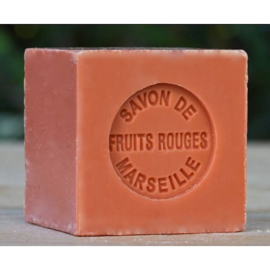 Lumière de Provence - Marseille miniblokje rood fruit 100 gram
