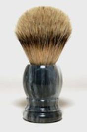 Herbapharm - Scheerkwast Silverspits Marmer/Grijs Dassenhaar.