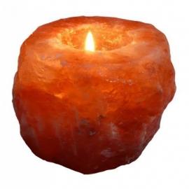 Himalayazout Theelichthouder Natuur Esspo 800g