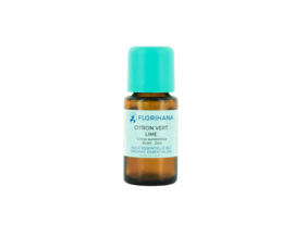 Lime / Limoen olie - Etherische olie Citrus Aurantifolia, bio. Florihana 5 of 15 gram