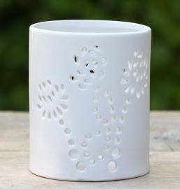 Les Lumières du Temps - Theelichthouder keramiek cilinder 11 cm