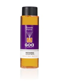 GOA Passion Papaya Geurstokjes Navulling  250 ml. & Geurstokjes