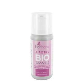 Florihana gezichtsreiniger biologisch 3 rozen 100 ml
