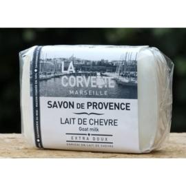 La Corvette - Savon de Marseille met geitenmelk 100 gram.