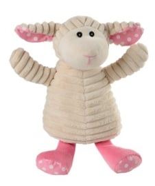 01172 Warmies warmteknuffel Schaap roze Pure Puntje (luxe)