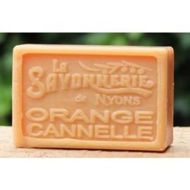La Savonnerie de Nyons - Marseillezeep Kaneel en Sinaasappel 100 gram.