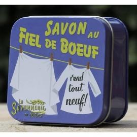 La Savonnerie de Nyons - Blikje vlekkenzeep 100 gram.