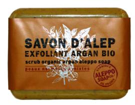 Aleppo Soap Co. - zeep exfoliant met biologische argan