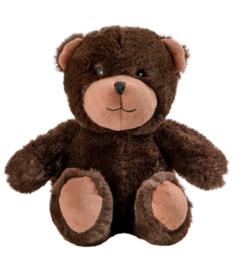 15045  Warmies warmteknuffel Mini Teddybeer donker bruin (magnetronknuffel)