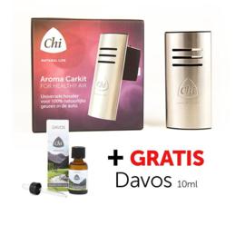 Chi Aromalogica Carkit & gratis Davos kuurolie 10 ml.
